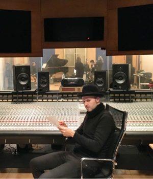 Giulio Wilson al mixer